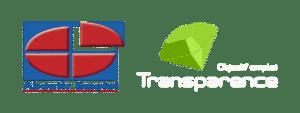 deux logos aboutir et transparence emploi