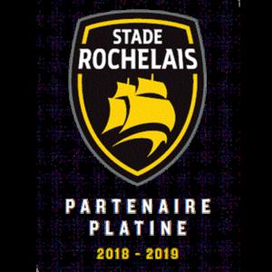 Logo stade rochelais partenaire platine